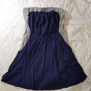 Free People Strapless Dress w/ Pockets